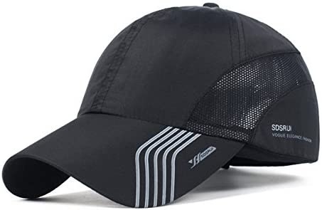 Amazon.com   CATOP Male Baseball Cap Quick Dry Mesh Back Portable Sun Hats  For Sports Golf Running Fishing Outdoor Research   Sports   Outdoors a249142830d6