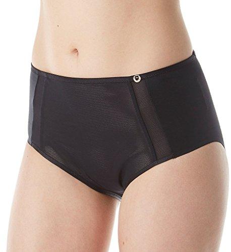 Chantelle C Magnifique Sexy High Waist Brief Panty (1418) 2X/Black