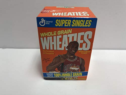 Vintage Michael Jordan Mini Wheaties Chicago Bulls Cereal Box still sealed
