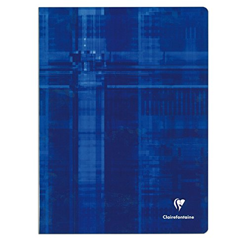 CLAIREFONTAINE Lot de 5 Cahiers piq/ûre avec Sey/ès grands carreaux 24 x 32 cm 192 pages Coloris al/éatoire