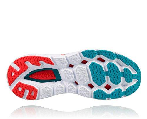 Hoka One One W Overwinnende 3 Rennende Sneakerschoen - Dubarry / Grenadine - Dames - 7.5