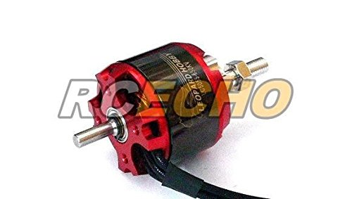 RCECHO® Leopard Model LC5055 KV650 Outrunner Brushless Motor & Propeller Adaptor OM057 with 174; Full Version Apps Edition