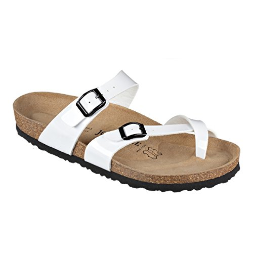 JOE N JOYCE Milano Synsoft Suelo Blando Sandalias Normal White Patent