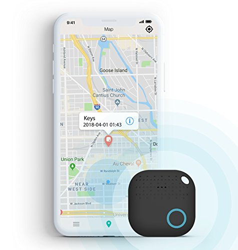 Key Finder Locator - Wireless Locator for Phone/Keys / Pet/Wallet - Smart Tracker - Bluetooth Tracker for lost items - Anti-lost Alarm - IOS & Android App for lost items by Nuva Goods