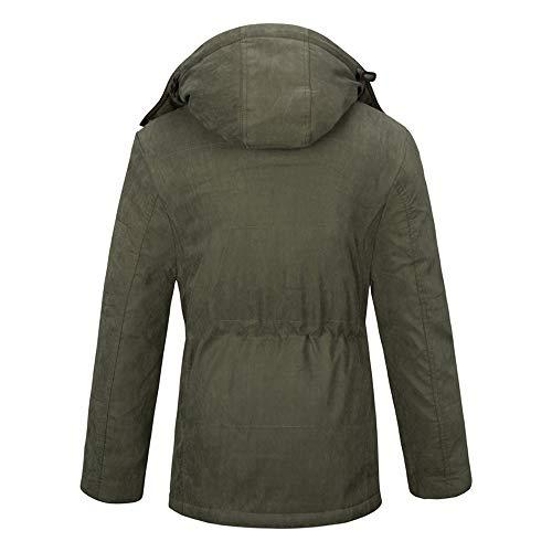 Giacca Resolve Jkt Di Ins Caldo Velluto Green Termica Ispessimento Grandi Cappotto Dimensioni Lewwb Più qdUtwzq