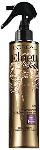 47 opinioni per L'Oréal Paris Elnett Spray Protezione Calore Lisci Lacca Spray per Capelli, 170