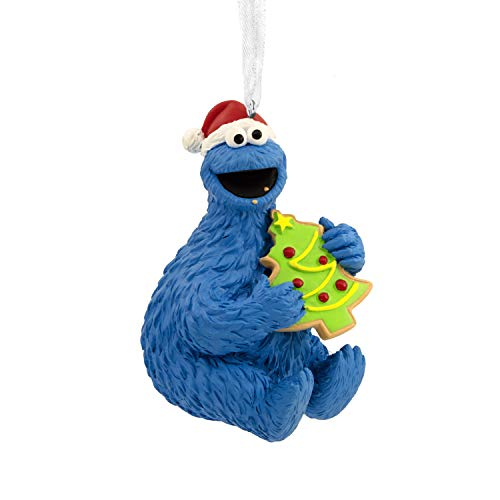 Christmas Holiday Cookie Ornament - Hallmark Christmas Ornaments, Sesame Street Cookie Monster Ornament