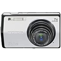 Olympus Stylus 7000 12 MP Digital Camera with 7x Optical Dual Image Stabilized Zoom and 3-Inch LCD (Silver) Key Pieces Review Image