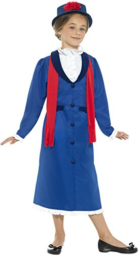 12 Years Children's Victorian Nanny (Mary Poppins Costume Uk)