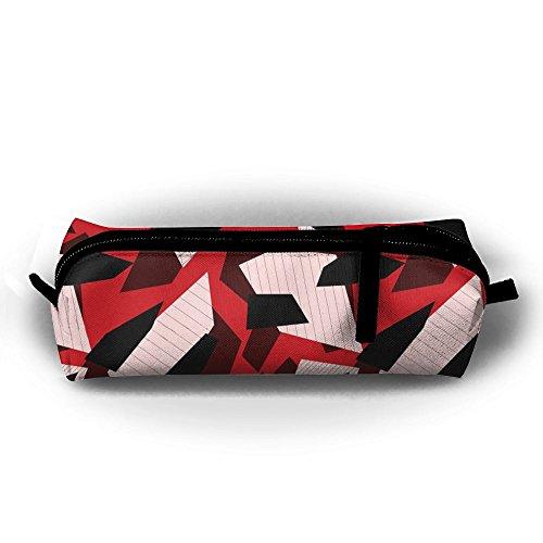 FRTSFLEE - Estuche para lápices con diseño geométrico de camuflaje urbano, multifuncional, ideal como regalo para...