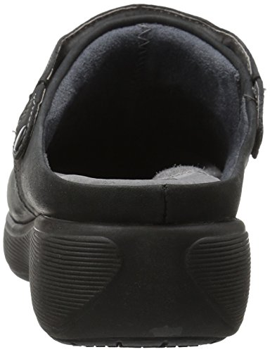 Softwalk Womens Edge Pro Clog Nero Olio