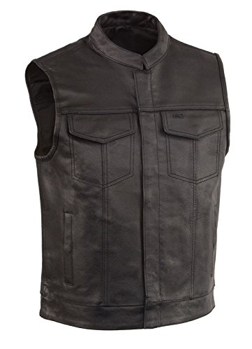 Leather Concealed Pockets Cowhide Single product image