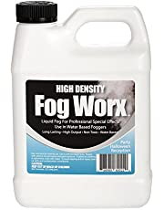 FogWorx Fog Juice - High Output Long Lasting Fog Machine Fluid