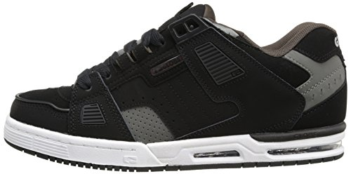 GLOBE Skateboard Shoes SABRE BLACK/GRAY/CHOCO