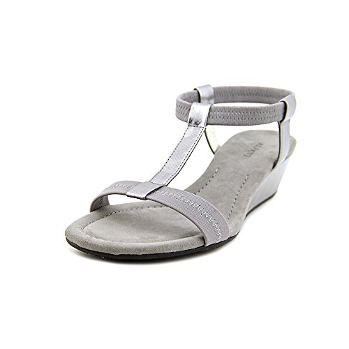 Alfani - Sandalias de vestir para mujer gris