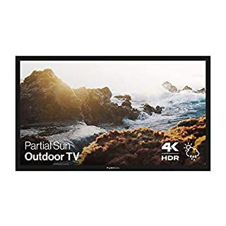 Furrion Aurora - Partial Sun Series 65-Inch Weatherproof 4K Ultra-High Definition LED Outdoor Television with Auto-Brightness Control for Outdoor Entertainment - FDUP65CBR