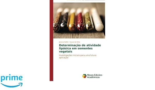Determinação de atividade lipásica em sementes vegetais ...