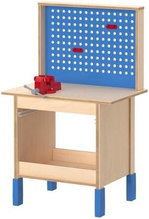 Ikea Kinder Werkbank Duktig Aus Birkenholz Hohenverstellbar Wachst Mit Amazon De Spielzeug