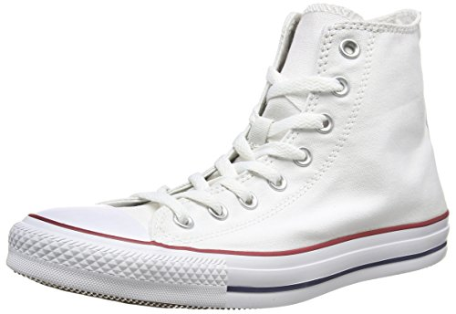 Converse Chuck Taylor All Star Hi, Zapatillas de tela unisex Blanco (Optical White)