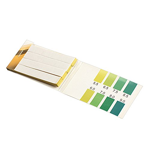 AMZVASO - 80 Strips PH Meters Test Strips Range 5.5-9.0 PH Alkaline Test Indicator Papers Lab Supplies Measurement & Analysis (Ph Indicator Lab)
