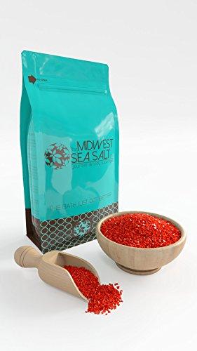 Midnight Rose Mediterranean Sea Bath Salt Soak - 5lb (Bulk) - Coarse Grain