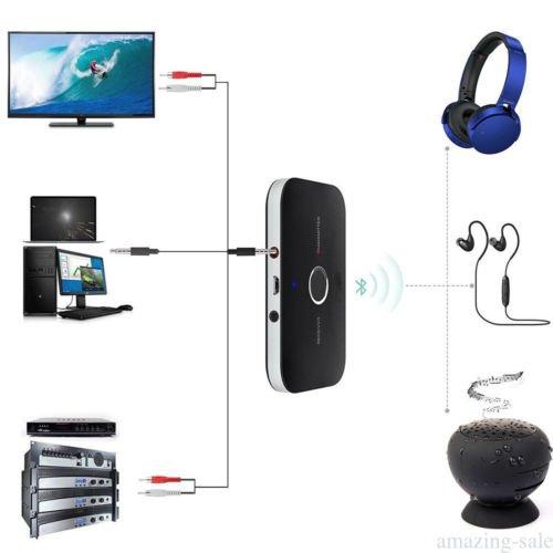 fidgetfidget HIFIワイヤレスBluetoothオーディオ送信機&受信機RCA 2 in 1アダプタ新しい3.5 MM   B07FJVSVN9