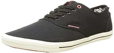 JACK & JONES Jjspider Canvas Sneaker Anthracite, Zapatillas Hombre, Gris (Anthracite), 40 EU