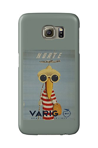 brazil-varig-norte-artist-petit-vintage-advertisement-galaxy-s6-cell-phone-case-slim-barely-there