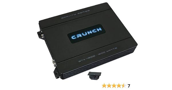 Crunch GTX 4600 4 Kanal Verstärker Endstufe Amp
