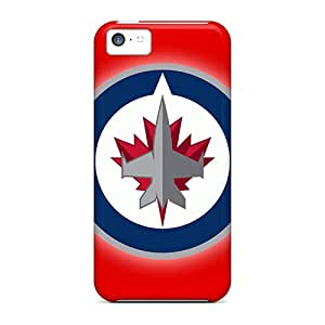 Iphone 5c SDL9779naGP Custom Stylish Winnipeg Jets Skin Scratch Resistant Cell-phone Hard Cover -MansourMurray