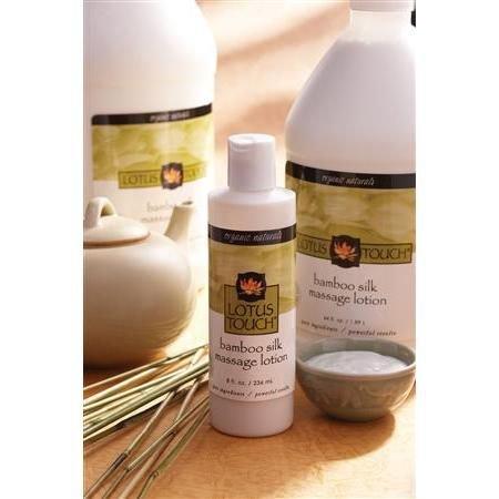 (Lotus Touch Organic NaturalsTM Bamboo Silk Massage Lotion 8 oz)