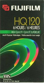 Fuji HQ T-120 Recordable VHS Cassette Tapes ( 12 pack ) (Discontinued by Manufacturer) by Fuji EnviroMAX