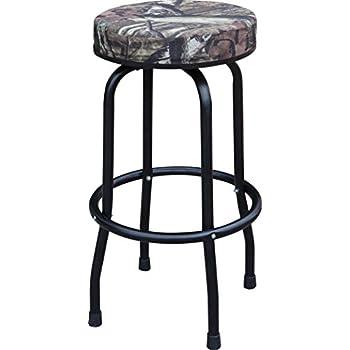 Amazon Com Torin Big Red Swivel Bar Stool Shop Seat