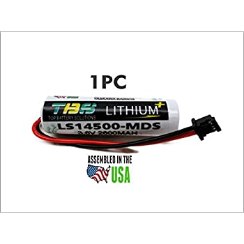 Amazon.com: 2PC Mitsubishi LS14500-MDS 3.6 Volt Lithium