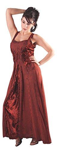 Gothic Weiß Tageskleidung Adele Langes Damen Bäres Kleid v1wpxq4