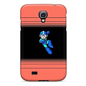 New Fashionable Day Life Cover Case Specially Made For Galaxy S4(mega Man)
