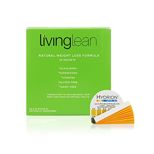 Living Lean Detox Cleanse Weight Loss Kit Refill Pack - Vegan Natural Organic -Alkaline Your Body- Sustainable Weight Loss & Digestion Support - Colon, Kidney, Liver & Bowel Cleanser 30 Sachet (Best Detox Diet For Weight Loss Australia)