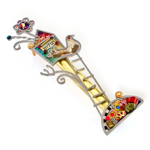 Seeka Peace Mezuzah Curated by The Artazia Collection M0257 by The Artazia Collection