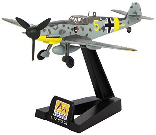 Easy Model 1:72 Scale Messerschmitt BF-109G-2 VI/JG52 1942 Russia Model Kit