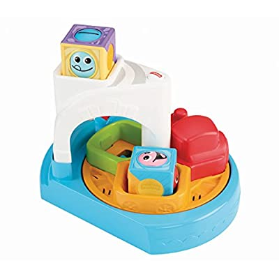 Fisher-Price Roller Blocks Whirlin' Train Town: Toys & Games