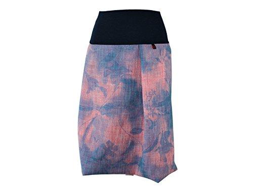 Dunkle 40 Gris Design Boule Vert Batik Jupe Blau Rosa Femme OqCxrYOw