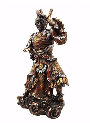 Ky & Co YK Journey to The West Sun Wukong Monkey King Fighting Buddha Decorative Figurine (Sun Wukong Journey To The West Art)
