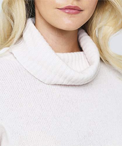 alto alto alto cachemire isilda rotolo 360 Da Crema collo collo collo collo Sweater Crema Donna 0xwCA4