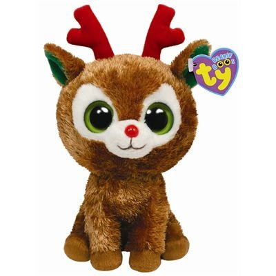 ecb6d09d3f2 Image Unavailable. Image not available for. Color  Ty Beanie Boos Comet -  Reindeer
