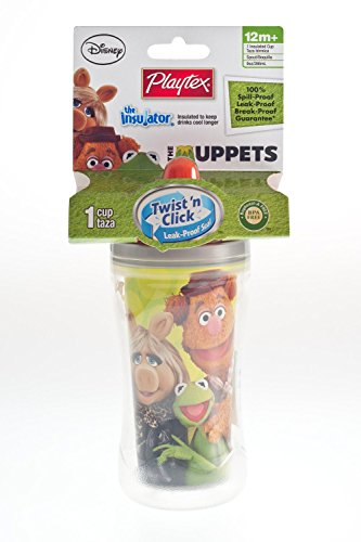 Playtex Muppets Insulator Spout - The Muppets Family Cup