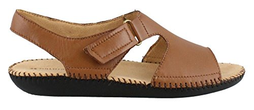 Naturalizer Women's, Scout Leather Low Heel Sandals TAN 9.5 M