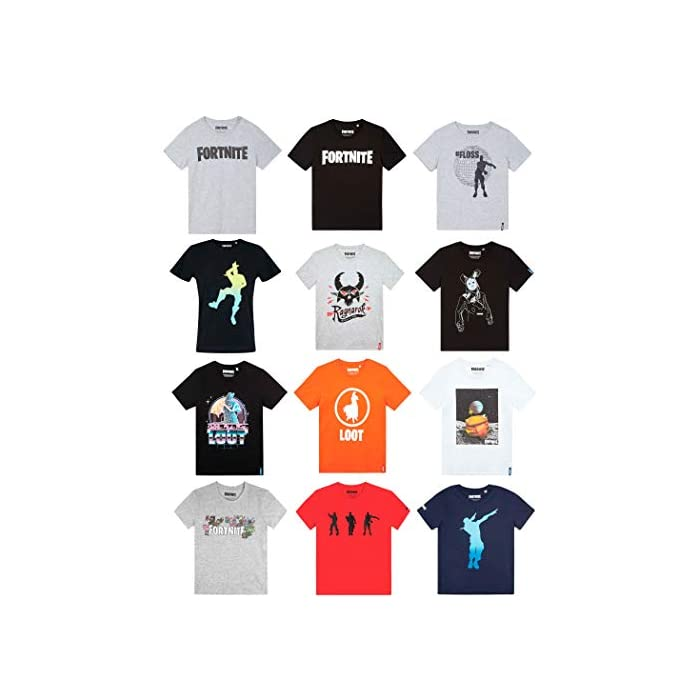 413RYuhkYYL Prodotto con Licenza Ufficiale Epic Games T-shirt manica corta 80% Algodón, 20% Poliéster
