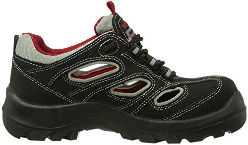 Safety Jogger ALSUS Unisex-Erwachsene Sicherheitsschuhe, Schwarz (Black 033), EU 38