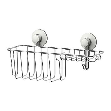 IKEA IMMELN - Shower soap basket with hook aea66a5ab64e3