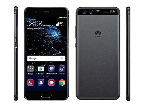 "Huawei P10 64GB VTR-L29 5.1"" Dual Sim Dual 20MP Camera - International Version, No Warranty, GSM ONLY (Black)"